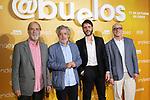 Ramon Barea (l), Carlos Iglesias, Santiago Requejo and Roberto Alvarez attend Abuelos premiere on October 09, 2019 in Madrid, Spain.(ALTERPHOTOS/ItahisaHernandez)