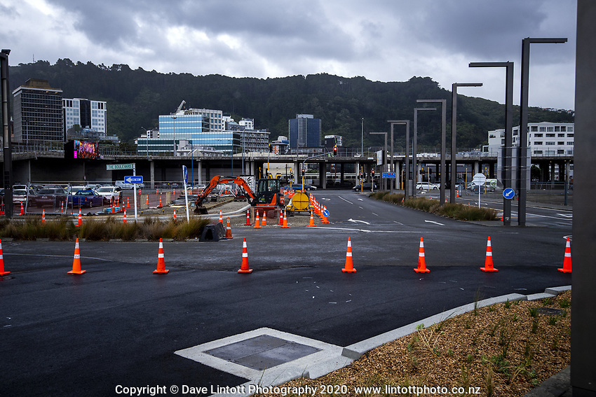 CentrePort in Wellington, New Zealand on Tuesday, 17 March 2020. Photo: Dave Lintott / lintottphoto.co.nz