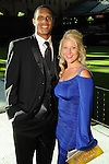 Justin and Loren Maxwell at the Astros Wives' Gala at Minute Maid Park Thursday Aug. 16, 2012.(Dave Rossman/For the Chronicle)