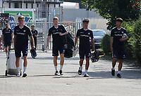 Leon Müller (SV Darmstadt 98), Silas Zehnder, Seungho Paik (SV Darmstadt 98) - 01.08.2020: SV Darmstadt 98 Trainingsauftakt, Stadion am Boellenfalltor, 2. Bundesliga, emonline, emspor<br /> <br /> DISCLAIMER: <br /> DFL regulations prohibit any use of photographs as image sequences and/or quasi-video.
