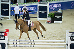Bertram Allen on Quiet Easy 4 competes and wins during Longines Speed Challenge at the Longines Masters of Hong Kong on 20 February 2016 at the Asia World Expo in Hong Kong, China. Photo by Victor Fraile / Power Sport Images