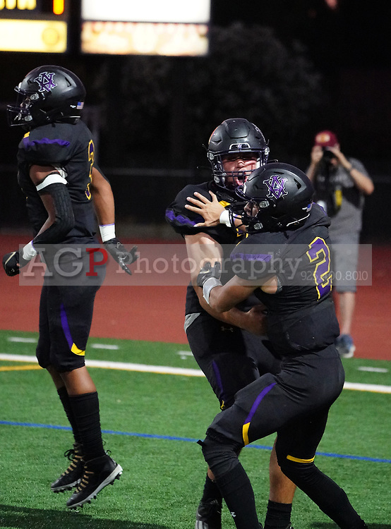 2021 Foothill at Amador Valley High School Varsity in Pleasanton, CA Friday Sept. 24, 2021. Foothill won the game 21-17. (Photo by Alan Greth AGP Sports)