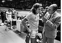 1982, ABN WTT, Vilas verslaat Connors en wordt geinterviewd door Willem Duys