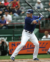 Texas Rangers OF Josh Hamilton against Seattle on May 14th, 2008 at Texas Rangers Ball Park. Photo by Andrew Woolley .