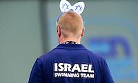 Supporters of ISRAEL<br /> London, Queen Elizabeth II Olympic Park Pool <br /> LEN 2016 European Aquatics Elite Championships <br /> Swimming<br /> Women's 200m freestyle semifinal<br /> Day 12 20-05-2016<br /> Photo Giorgio Perottino/Deepbluemedia/Insidefoto