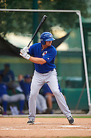 GCL Blue Jays designated hitter Matt Dean (35) at bat during a game against the GCL Braves on August 5, 2016 at ESPN Wide World of Sports in Orlando, Florida.  GCL Braves defeated the GCL Blue Jays 9-0.  (Mike Janes/Four Seam Images)