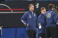Torwart/Goalie Manuel Neuer (Deutschland Germany), Joshua Kimmich (Deutschland Germany) - Hamburg 08.10.2021: Deutschland vs. Rumänien, Volksparkstadion Hamburg