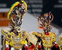 The dance troupe Diablado Boliviana performed during an MLS match between D.C. United and the San Jose Earthquakes at RFK Stadium in Washington D.C. on October 9 2010. San Jose won 2-0.