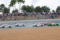 #74 Racing Team India Eurasia Ligier JSP217 - Gibson LMP2, James Winslow, John Corbett, Tom Cloet, 24 Hours of Le Mans , Race, Circuit des 24 Heures, Le Mans, Pays da Loire, France