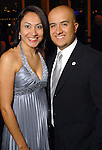"""Denyze Gama and Asdrubal """"Dru"""" Gutierrez at the Hispanic Chamber of Commerce's annual Triunfando Awards Show and Dinner at the Hobby Center Saturday Nov. 14,2009. (Dave Rossman/For the Chronicle)"""