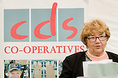 Mrs Maureen Stables, Chair of CDS Co-operatives, at the launch of a new CDS mixed tenure development at 32-34 Lithos Road, Camden.