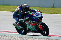 30th March 2021; Barcelona, Spain; Superbikes, WorldSSP600 , day 2 testing at Circuit Barcelona-Catalunya;   F. Fuligni (ITA) riding Yamaha YZF R6 from VFT Racing