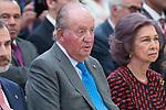 King Juan Carlos I of Spain attends to National Sport Awards 2016 at El Pardo Palace in Madrid , Spain. February 19, 2018. (ALTERPHOTOS/Borja B.Hojas)