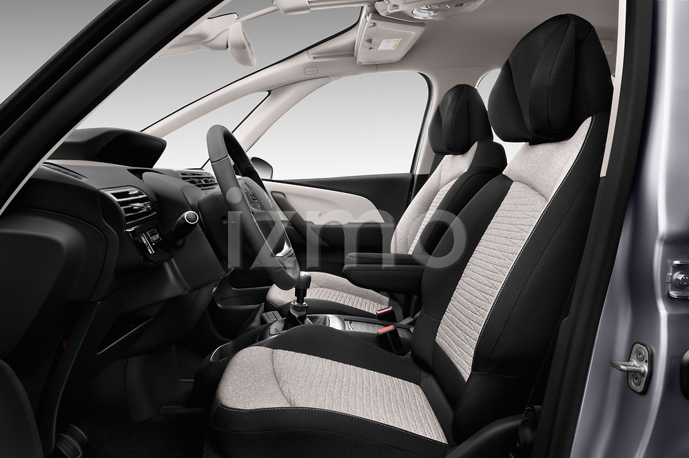 Front seat view of 2017 Citroen C4-Picasso Shine 5 Door Mini Mpv Front Seat  car photos