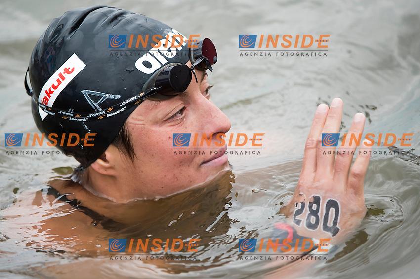 FRANCO Alice ITA<br /> Open Water - Women's  25km <br /> Day 09 01/08/2015<br /> XVI FINA World Championships Aquatics Swimming<br /> Kazan Tatarstan RUS July 24 - Aug. 9 2015 <br /> Photo Giorgio Perottino/Deepbluemedia/Insidefoto