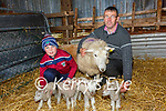 Rowhan & Brendan O'Sullivan from Cashlagh, Dromid with Sadie and her one day old quadruplets born on Monday, Trixi, Bucky, Parker & Bon Bon.