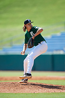 Dylan Jacobs (7) of TNXL Academy in Ocklawaha, FL during the Perfect Game National Showcase at Hoover Metropolitan Stadium on June 19, 2020 in Hoover, Alabama. (Mike Janes/Four Seam Images)