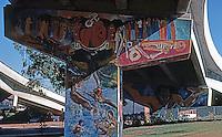 San Diego: Chicano Park Murals. Photo '87.