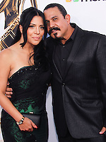 PASADENA, CA, USA - OCTOBER 10: Emilio Rivera, Yadi Valerio arrive at the 2014 NCLR ALMA Awards held at the Pasadena Civic Auditorium on October 10, 2014 in Pasadena, California, United States. (Photo by Celebrity Monitor)