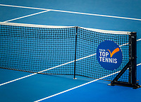 Amstelveen, Netherlands, 18  December, 2020, National Tennis Center, NTC, NK Indoor, National  Indoor Tennis Championships,   :  Net<br /> Photo: Henk Koster/tennisimages.com