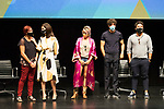 La Casa del Caracol cast during press conference after the end of filiming 'La Casa del Caracol' at Malaga Film Festival 2020 August 23 2020. (Alterphotos/Francis González)