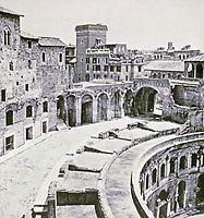 Trajan's Markets, Trajan's Forum, Rome Italy, 100 - 112 BCE