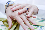 Melitta and Brande's 1/11/14 Benicia 9th Street Beach Wedding and preparations at Arian Nail Spa.<br />