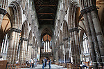 Nave of Glasgow Cathedral, Scotland