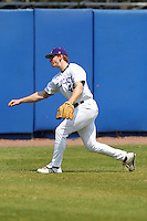 Northwestern Wildcats Jack Quigley #44 during a game against North Dakota State at Chain of Lakes Park on March 20, 2011 in Winter Haven, Florida.  Photo By Mike Janes/Four Seam Images