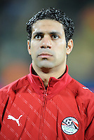 Hosni Abd Rabbou of Egypt. USA defeated Egypt 3-0 during the FIFA Confederations Cup at Royal Bafokeng Stadium in Rustenberg, South Africa on June 21, 2009.