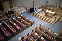 New York: Citicorp--St. Peter's, Pews.