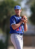 Los Angeles Dodgers minor leaguer Paul Coleman during Spring Training at Dodgertown on March 22, 2007 in Vero Beach, Florida.  (Mike Janes/Four Seam Images)