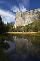 El Capitan and Merced River, Yosemite National Park, California, USA