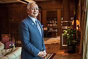 Dato' Sri Haji Mohammad Najib bin Tun Haji Abdul Razak, Prime Minister of Malaysia poses for a photo in his office in Putrajaya, Selangor, Malaysia. Photo: Sanjit Das/Panos
