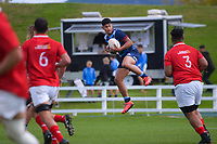 Action from the 2021 Bunnings Super Rugby Aotearoa Under-20 rugby match between the Barbarians and Blues at Owen Delaney Park in Taupo, New Zealand on Tuesday, 14 April 2020. Photo: Dave Lintott / lintottphoto.co.nz