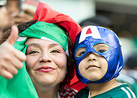 CHARLOTTE, NC - JUNE 23: Mexico fans during a game between Mexico and Martinique at Bank of America Stadium on June 23, 2019 in Charlotte, North Carolina.