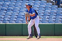 Memphis Tigers third baseman Alec Trela (29) during a game against the East Carolina Pirates on May 25, 2021 at BayCare Ballpark in Clearwater, Florida.  (Mike Janes/Four Seam Images)