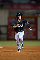 Birmingham Barons Nick Madrigal  (7) running the bases during a Southern League game against the Chattanooga Lookouts on July 24, 2019 at Regions Field in Birmingham, Alabama.  Chattanooga defeated Birmingham 9-1.  (Mike Janes/Four Seam Images)