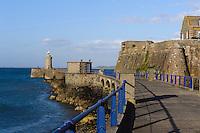 Castle Cornet in St. Peter Port, Insel Guernsey, Kanalinseln