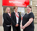 Amplifon Audiologist Lynsey McDonald (right) and branch coordinators Danielle Douglas and Sandra Cameron<br /> <br /> 29/06/2016    023_amplifon  <br /> Copyright  Pic : James Stewart   <br /> James Stewart Photography, 19 Carronlea Drive, Falkirk. FK2 8DN  <br /> Vat Reg No. 607 6932 25  <br /> Mobile : +44 (0)7721 416997  <br /> E-mail  :  jim@jspa.co.uk  <br /> If you require further information then contact Jim Stewart on any of the numbers above ...