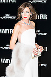 """Nieves Alvarez attends the photocall organized by Vanity Fair to reward Placido Domingo as """"Person of the Year 2015"""" at the Ritz Hotel in Madrid, November 16, 2015.<br /> (ALTERPHOTOS/BorjaB.Hojas)"""