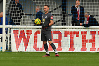 Nathan McDonald of Enfield Town during Enfield Town vs Worthing, Pitching In Isthmian League Premier Division Football at the Queen Elizabeth II Stadium on 16th October 2021