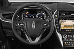 Car pictures of steering wheel view of a 2019 Lincoln MKC Base 5 Door SUV