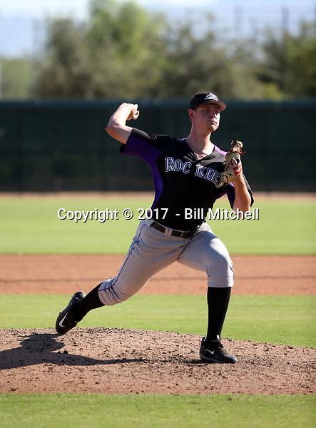 Tommy Doyle - 2017 AIL Rockies (Bill Mitchell)