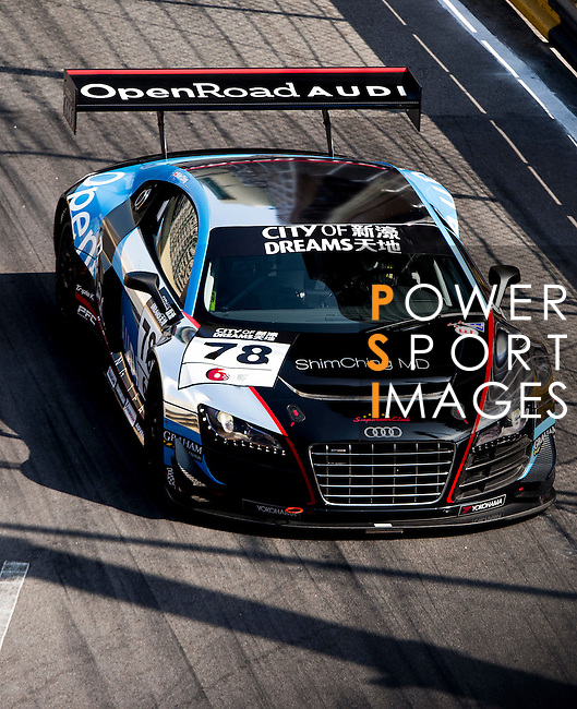 Competitors of Galaxy Macao Team during the 60th Macao Grand Prix on November 16, 2013 at Macao street circuit in Macau, China. Photo by Raf Sanchez / Power Sport Images