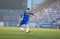 Noah Chilvers, Colchester United has a shot at goal during Colchester United vs Marine, Emirates FA Cup Football at the JobServe Community Stadium on 7th November 2020