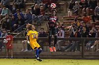AND, A - SEPTEMBER 11: Ousseni Bouda during a game between San Jose State and Stanford University at And on September 11, 2021 in And, A.