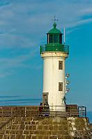France, Manche (50), Cotentin, La Hague, Port Diélette, le port  // France, Manche, Cotentin, La Hague, Port Dielette, the harbour