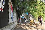 Caterina Pecoraro fotografa Giorgia Goldini negli spazi di Bunker. Agosto 2012