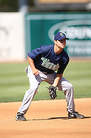April 17 2010: Michael Wing of the Cedar Rapids Kernels at Elfstrom Stadium in Geneva, IL. The Kernels are the Low A affiliate of the Los Angeles Angels. Photo by: Chris Proctor/Four Seam Images